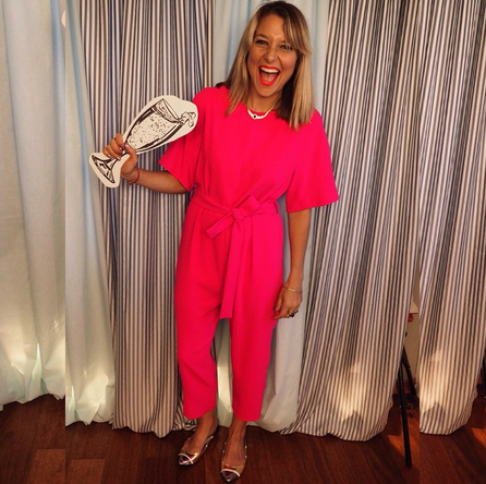 Honestly. MASSIVE jumpsuit envy...