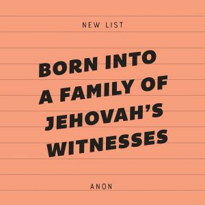 Jehovah witness disfellowshipped list
